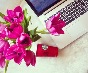 cofee, flowers, and good image