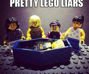 pretty little liars, lego, and pll image