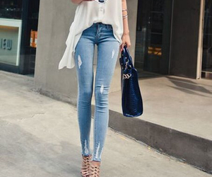 fashion, jeans, and life image