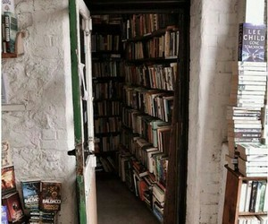 book, book shop, and shop image
