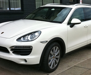 car, white, and cayenne image