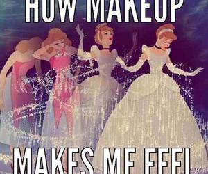 makeup, cinderella, and make up image