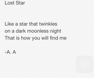 poem, poetry, and star image