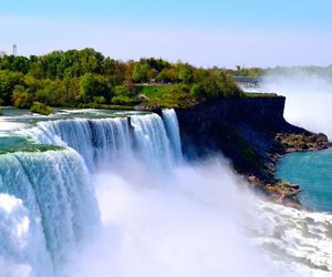 beautiful, landscape, and niagara image