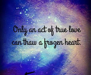 frozen, true love, and quotes image