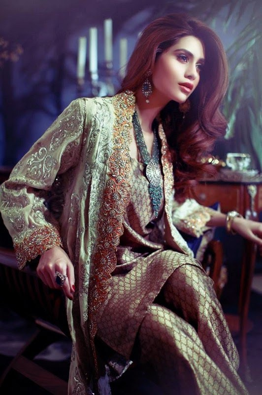 Bridal Pakistani Dresses 2015 By Maheen Karim Fashion Ideas Pk