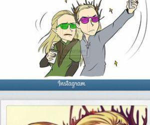 Legolas, funny, and LOTR image