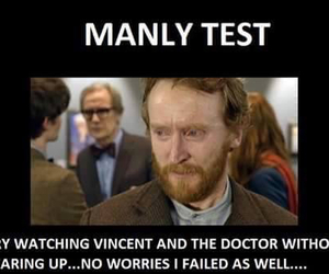 doctor who, vincent van gogh, and vincent and the doctor image