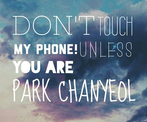 exo, wallpaper, and chanyeol image