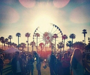 summer, fun, and coachella image