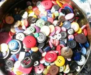 button, sewing, and buttons image