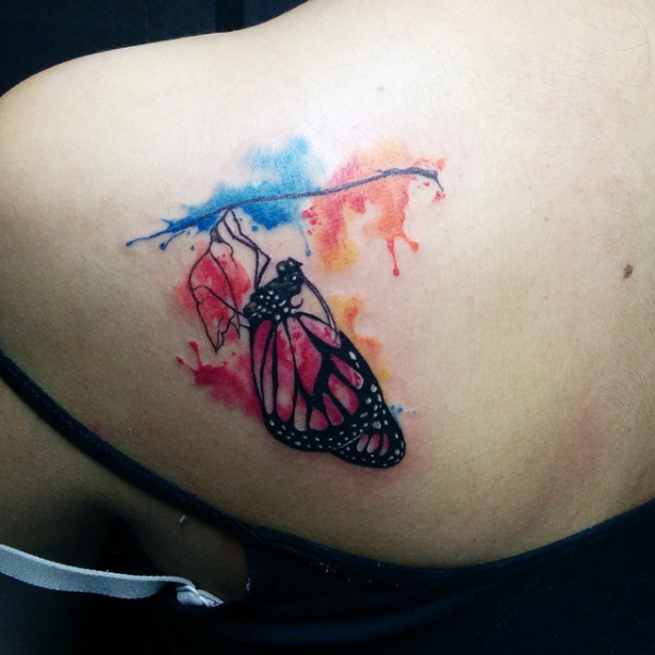 watercolor tattoo image