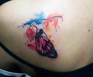 watercolor tattoo image