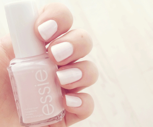 matte, essie, and nail art image