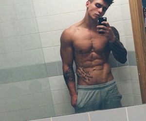 abs, name, and boy image