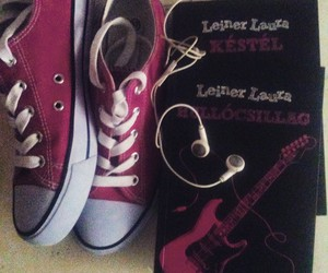 book and converse image