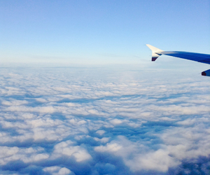 adventure, clouds, and fly image
