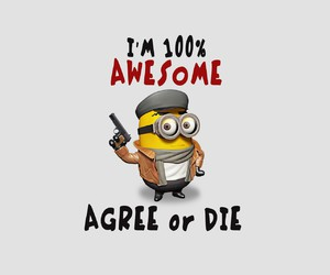 awesome, minions, and funny image
