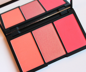makeup, pink, and blush image