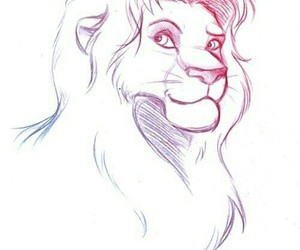 art and simba image