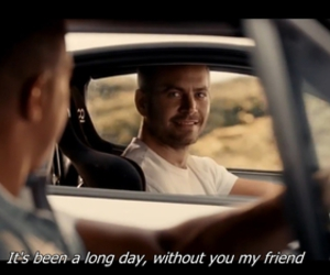 paul walker, movie, and quote image