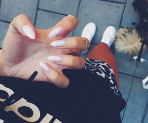 nails, style, and outfit image