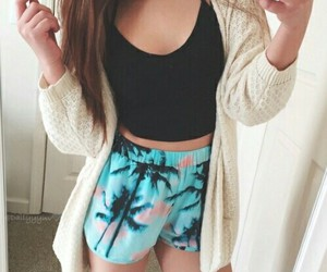beauty, shorts, and simple image