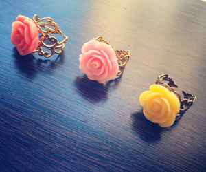 accessories, flowers, and handmade image