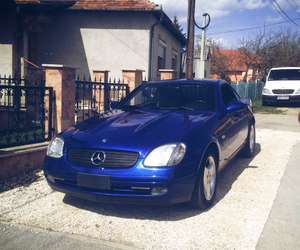 blue car, mercedes benz, and car image