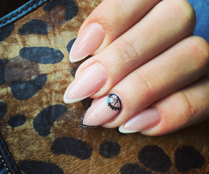 carousel, french, and nails image