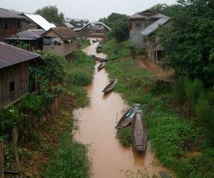 burma, myanmar, and village image