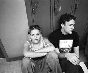 black and white, busy phillips, and freaks and geeks image