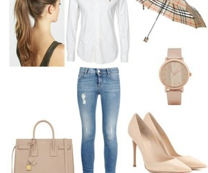 jeans, pumps, and ralph lauren image