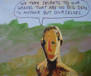 quote, secrets, and reality image