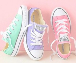 converse, pastel, and perfect image