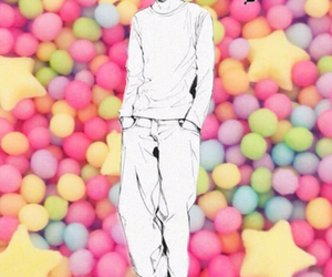 anime, boy, and candy image
