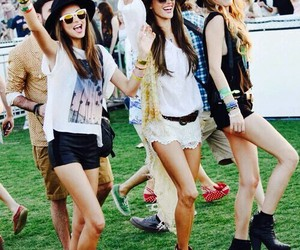 coachella, fashion, and music image