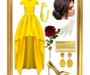 beauty and the beast, belle, and disney image