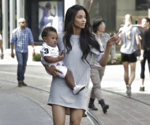 ciara, baby, and mom image