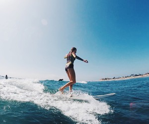 beautiful, sun, and surf image