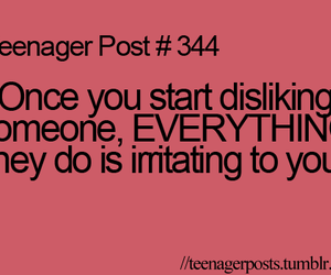 teenager post, quote, and dislike image
