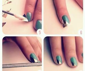 art, model, and nail image
