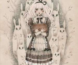 art, bunnies, and lolita image