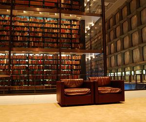 library, yale, and yale university image