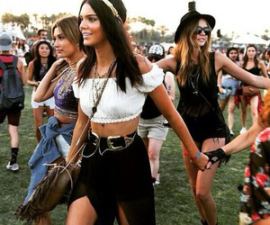 coachella, kendall jenner, and model image