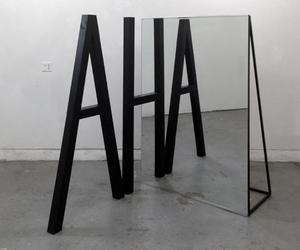 grunge, AHA, and mirror image