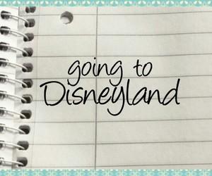 disneyland, goal, and bucket list image