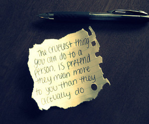quote, cruel, and life image