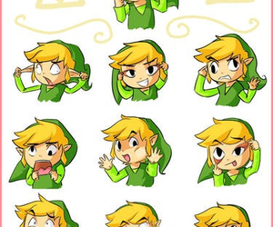 link, cute, and zelda image