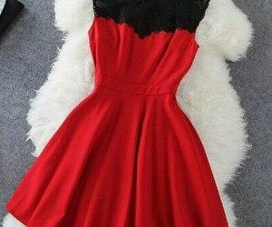 beautiful, dress, and moda image